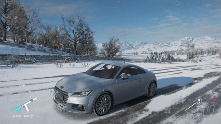 <em>Forza Horizon</em> 4 - racing in the snow