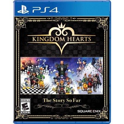 Kingdom Hearts The Story So Far PS4 box art