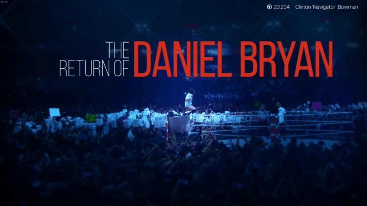 wwe 2k19 review the return of daniel bryan opening screen
