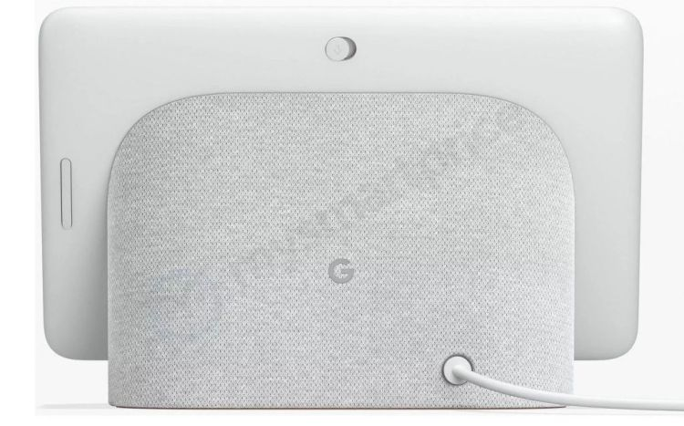Leaked image of Google's Home Hub
