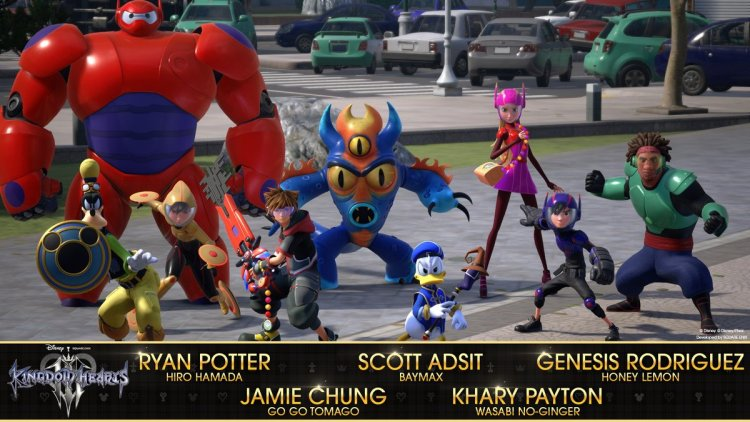 Big Hero 6 cast reveal for Kingdom Hearts 3.