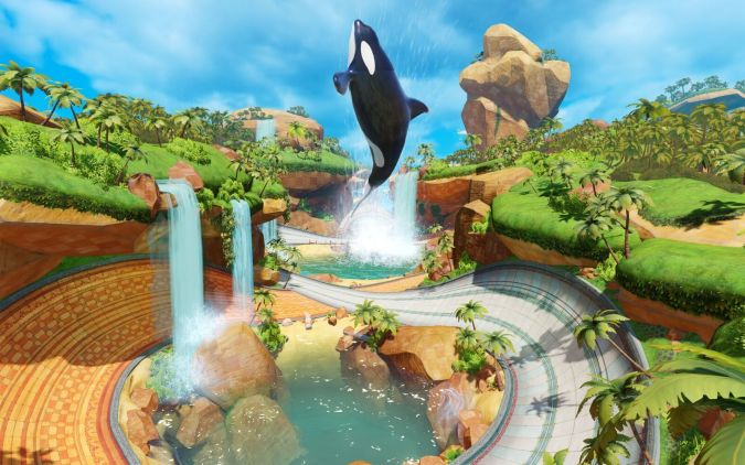 Team Sonic Racing - Whale Lagoon Track