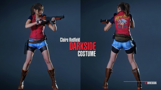 Claire Redfield Darkside Costume-01
