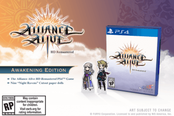The Alliance Alive HD Remastered Limited Edition