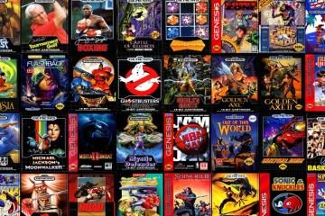 lots of sega genesis games