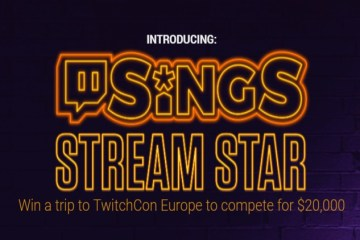 twitch sings stream star