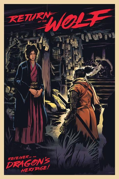 Gibbs Rainock Sekiro Poster