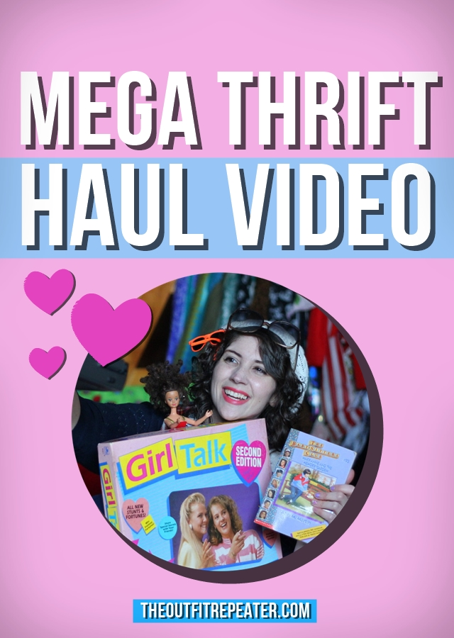 Mega March 2015 Thrift Haul Video   The Outfit Repeater