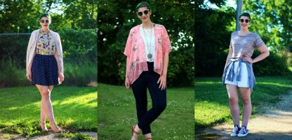 1 Pair of Sunglasses, Styled 3 Ways ft. Giant Vintage