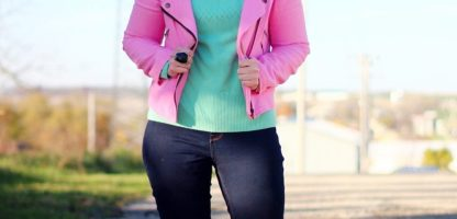 Taking A Fashion Risk in a Pepto Pink Jacket