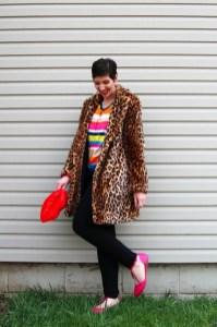 theoutfitrepeater-hannahrupp-fashionblog-letote-rainbowsweater-leopardprintcoat-forever21-redlipspurse-001