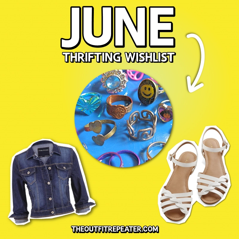 june Thrifting Wishlist, Hannah Rupp, The Outfit Repeater