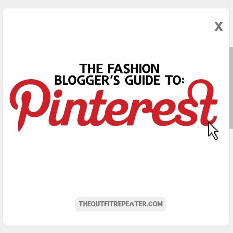 The Fashion Bloggers Guide To Using Pinterest www.theoutfitrepeater.com