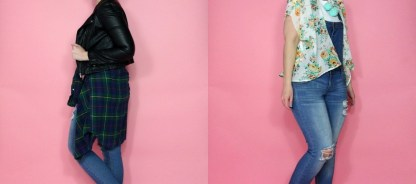 Two Ways to Wear Denim Overalls for Spring