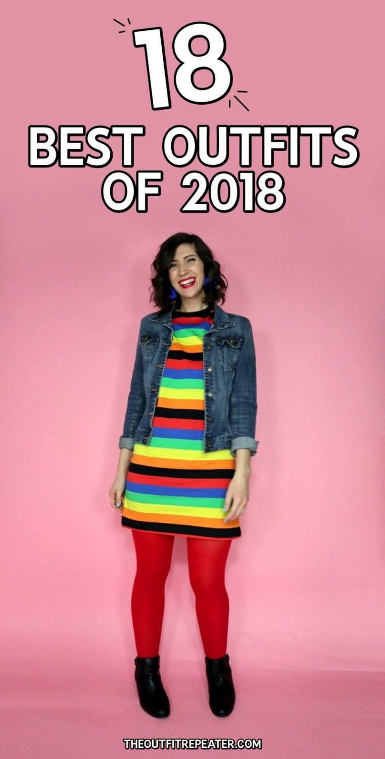 18 Best Outfits of 2018 hannah rupp fashion street style blogger clothes thrifted
