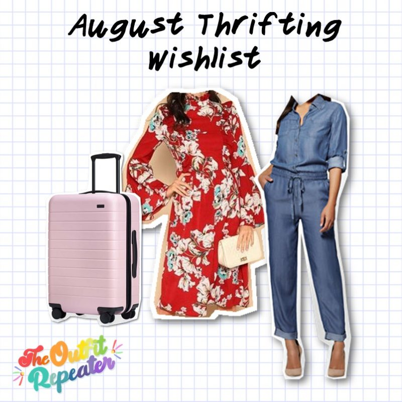 july thrift haul video wishlist hannah rupp the outfit repeater