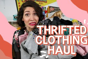 Fab February Thrift Haul Video + March Thrifting Wishlist
