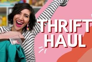 January Thrifted Clothing Haul + February Thrifting Wishlist