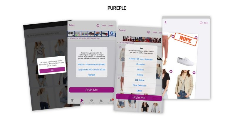 outfit planning app pureple iphone reviews hannah rupp the outfit repeater