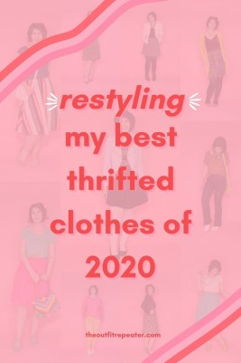 Restyling My 12 Best Thrifted Clothing Finds of 2020