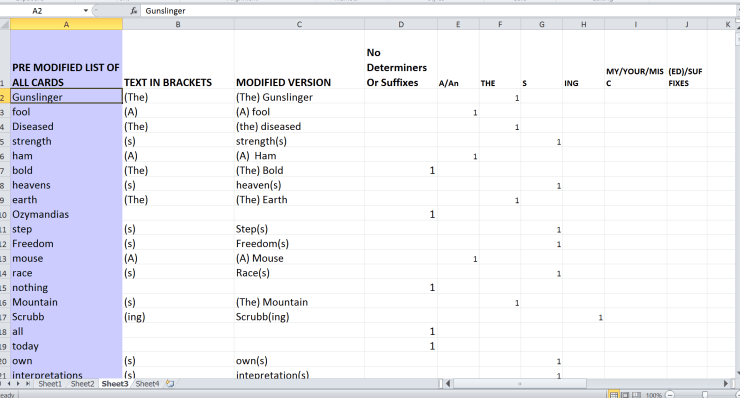Action Card Spreadsheet 1