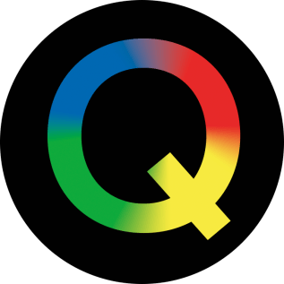 The Alternative Q Logo used on the Quote Cards and Game Board