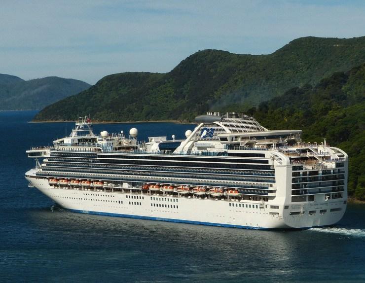 The Diamond Princess cruise ship- the source of COVID-19's earliest major outbreaks