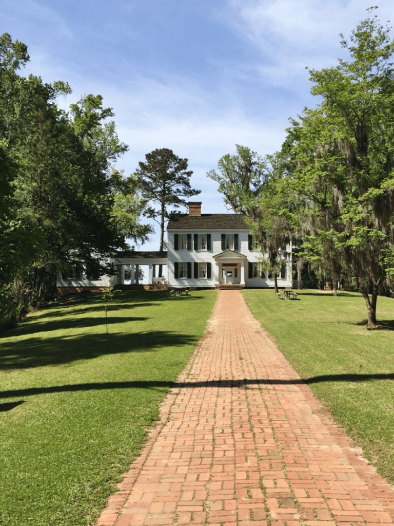 The Gregory House at Torreya State Park