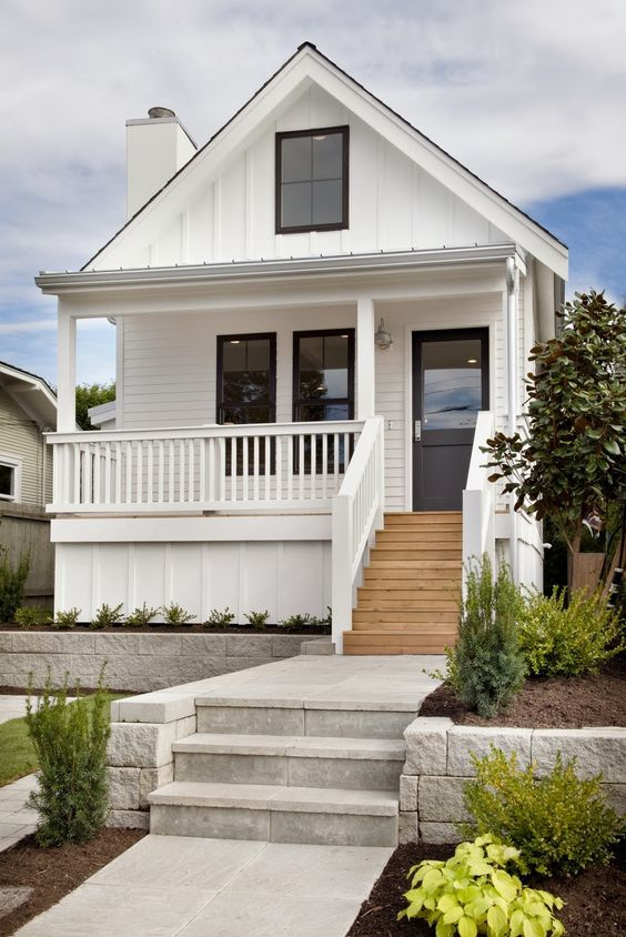 Adding Modern Cottage Elements to a Traditional Exterior
