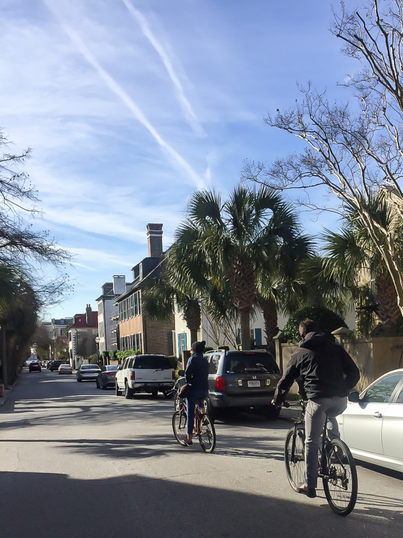 Winter Weekend in Charleston - The Outside and In