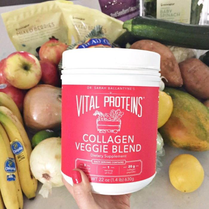 March Favorites - Vital Proteins Veggie Blend