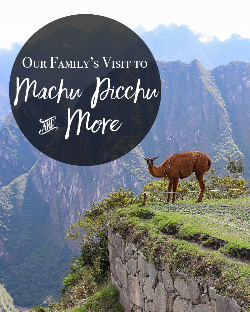 Our Family's Visit to Machu Picchu and More