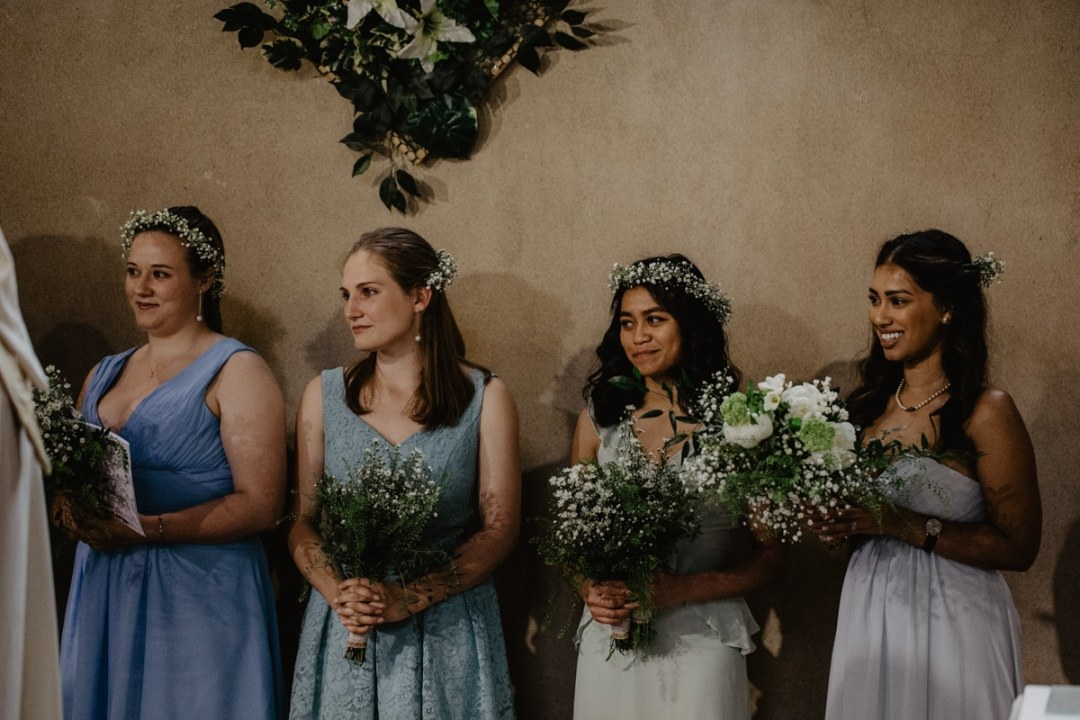 Rheannie and Samuel DIY Garden Wedding - bridesmaid