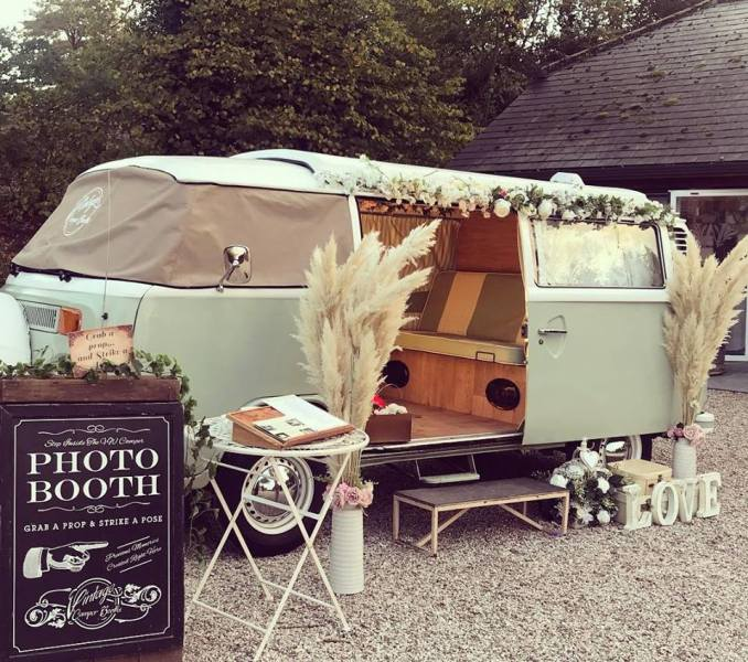 VW Campervan Photo Booth, Glitter Booth & Mobile Bar