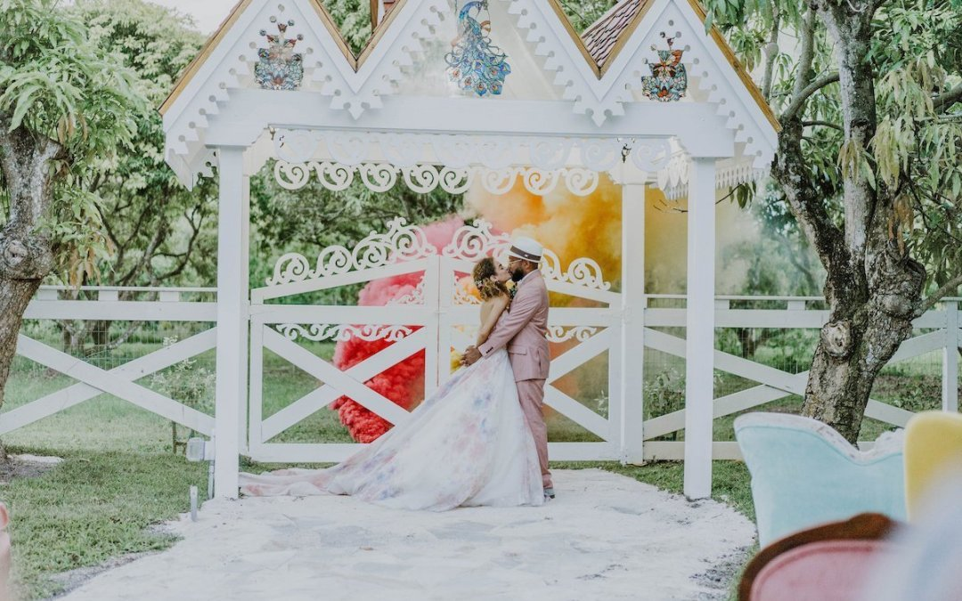 A colour pop styled shoot, Miami