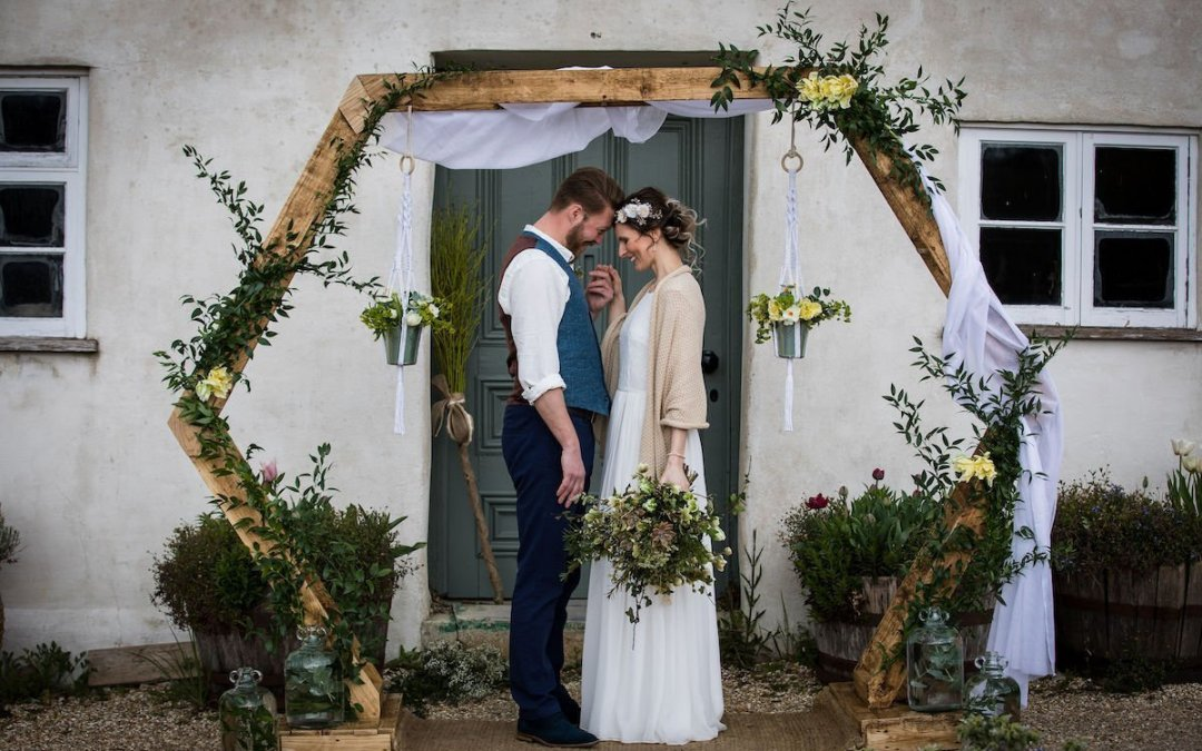 Eco Luxe Wedding Inspiration at River Cottage