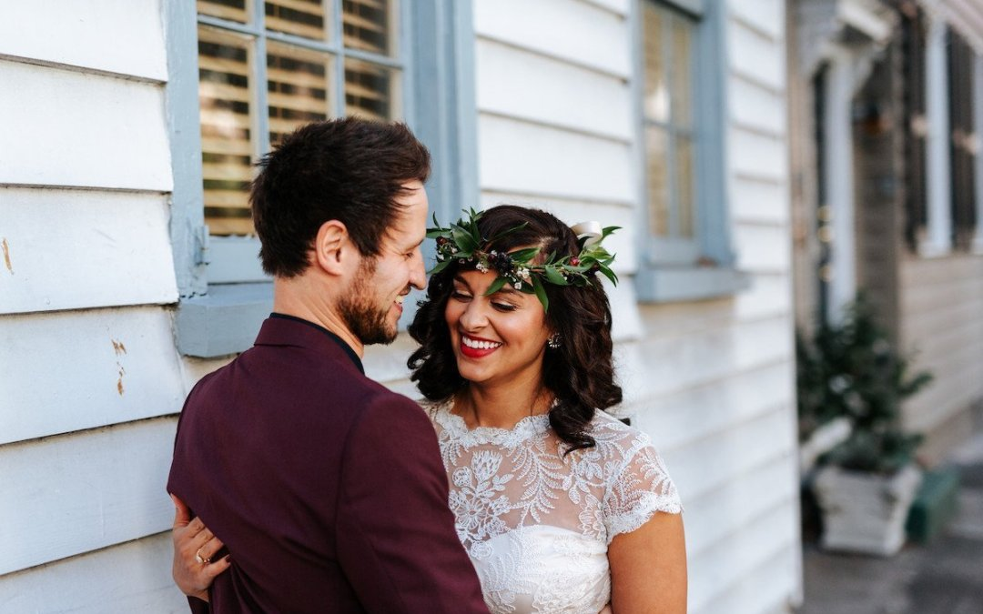 Intimate Downtown Wedding at The Parsonage