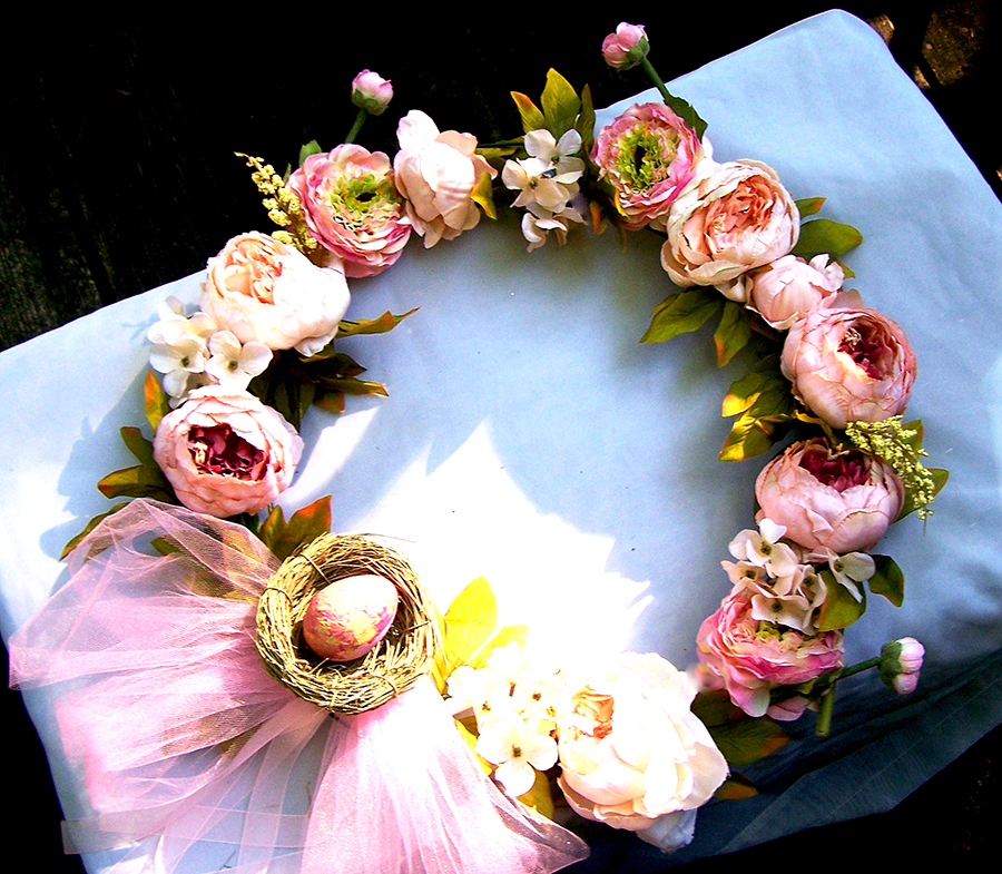 Pretty in Pink Summer Wreath!