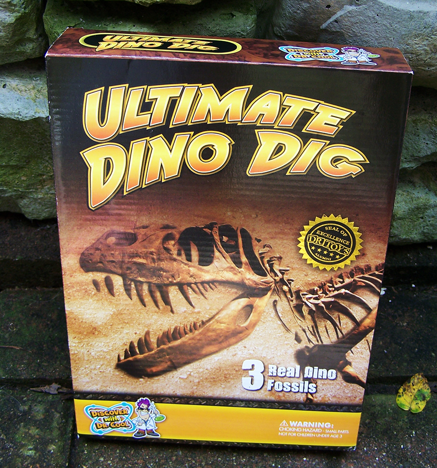 Ultimate Dinosaur Dig Kit – 3 Real Dino Fossils and T-Rex Skeleton! Review