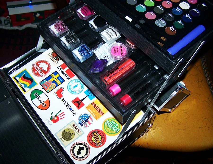 Makeup by One Direction Limited Edition Tour Case #makeupby1D #thelookscollection #markwins