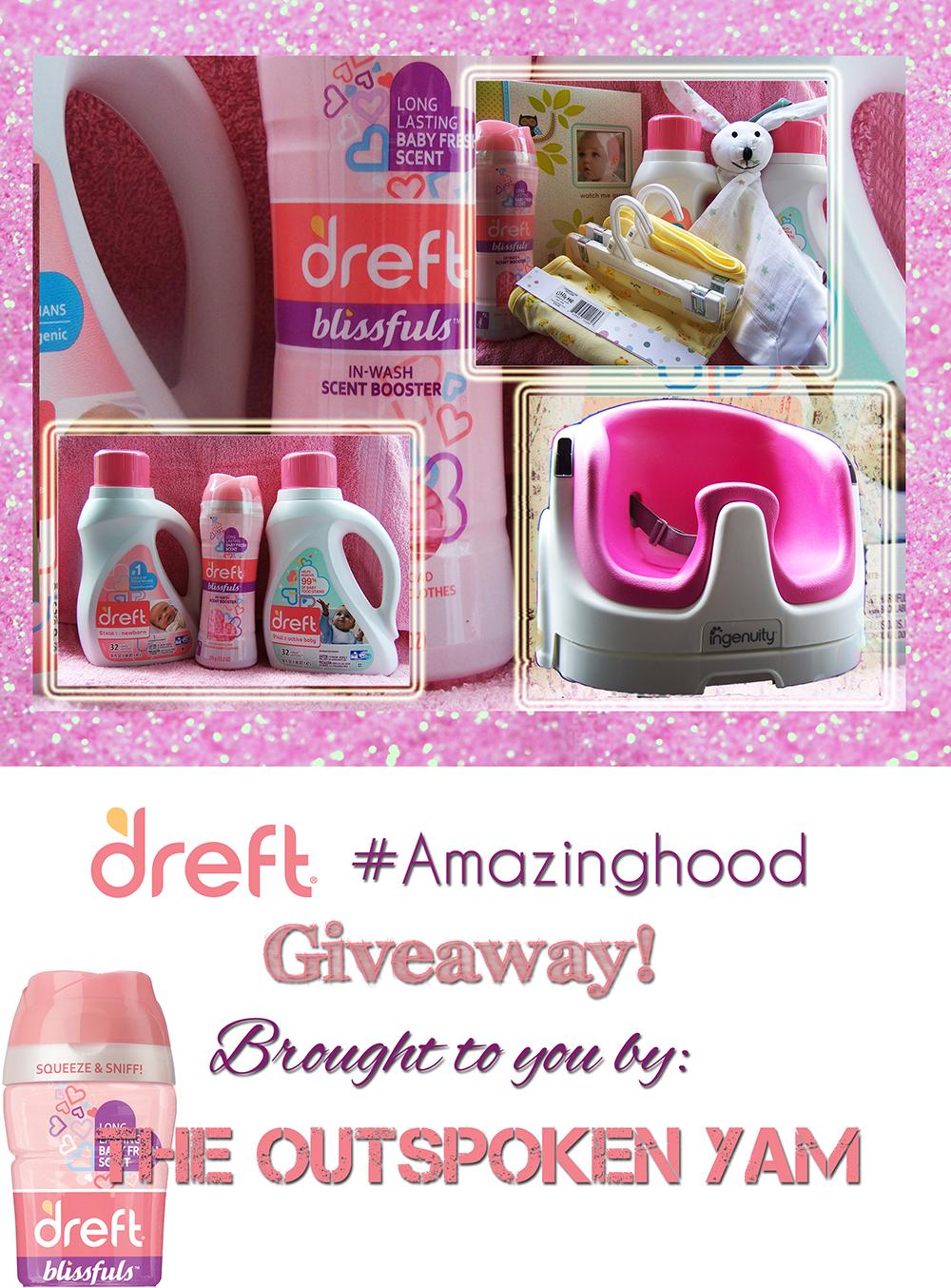 Dreft  #Amazinghood & An Awesome Giveaway! $165 ARV. Ends 5/16 #DDDivas  #sponsored