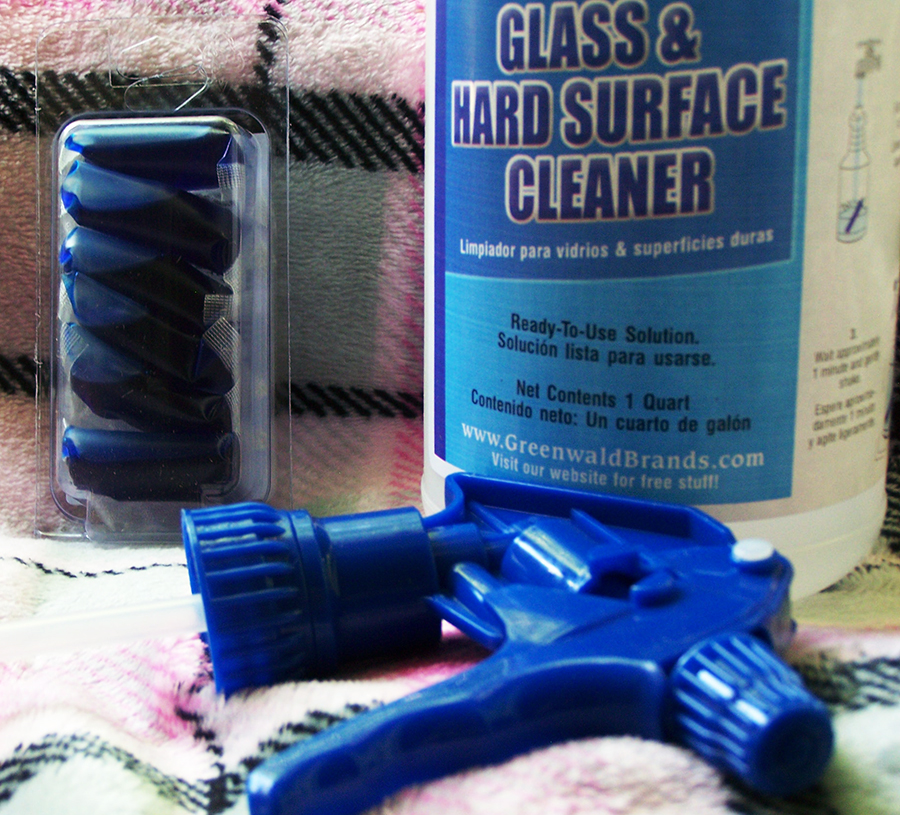 Greenwald's Glass & Hard Surface Cleaning Kit