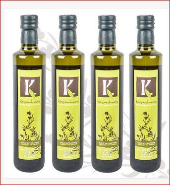 Kasandrinos: High quality organic extra virgin olive oil