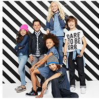 crazy 8 denim jeans kids boys girls sales shopping back to school buy deal good prices trend trendy washes dark acid light skinny straight legged jckets styles children