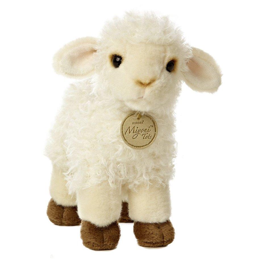 baby lamb soft stuffed plush toy lifelike kids children babies gift holiday gift guide 2017 sweet soft best