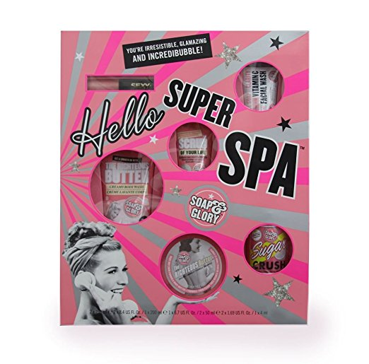 hello super spa soap and glory bath beauty skincare holiday gift guide teens women girls