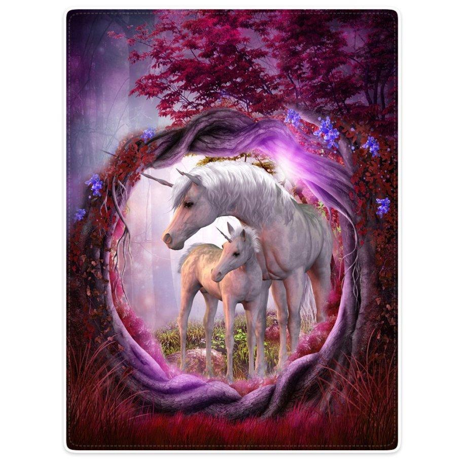 unicorn blanket home goods blog gift guide pretty magic fantasy