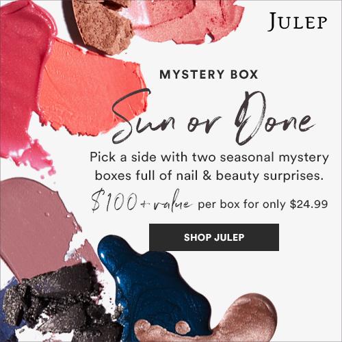 julep nails nail polish makeup beauty deal bargain shopping mystery box beauy box subscription fall summer cheap pretty sun done pr friendly blog list guide gifts girls teens