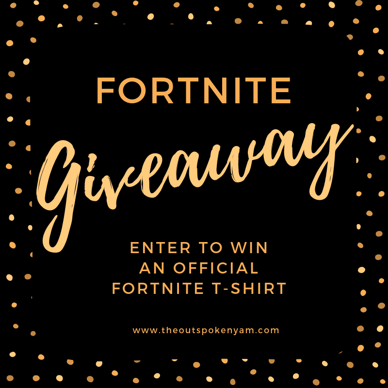 fortnite t-shirt tee giveaway game video videogame online multiplayer cuddle team leader bear character official kids teens players win enter pc pr friendly p.r. blog blogging bloggers clothes shirts geek geeky geeks entry free dance durr burger bus crew