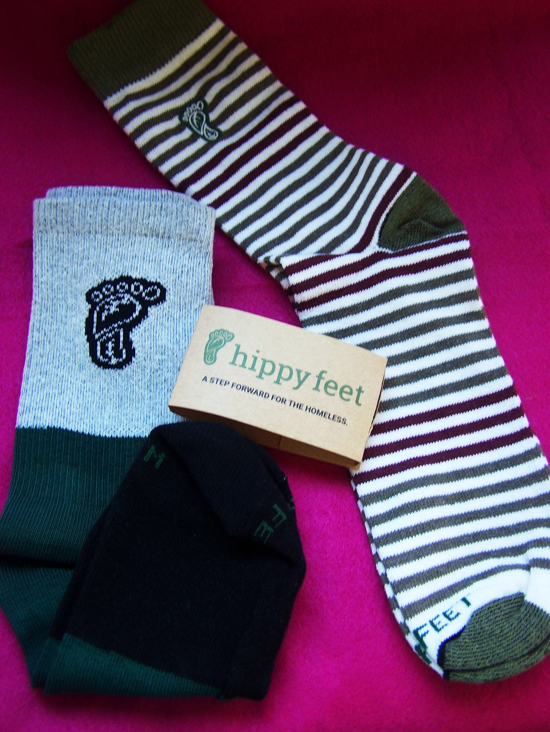 hippy feet socks souls sock good dees homeless helping fashion shoes footwear pr frienly blogger blog post clothes charity stripes striped cute mae in usa eco-friendly green